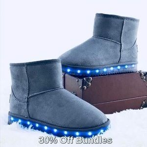 Other - 3/$30 - Light Up Boots, Gray